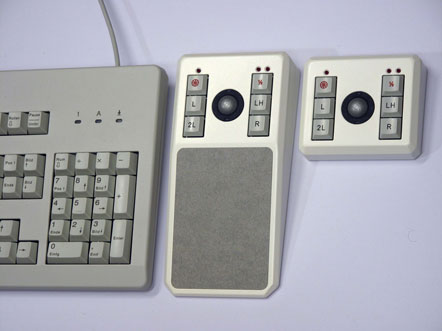 Tastatur mit TB19HB und TB19